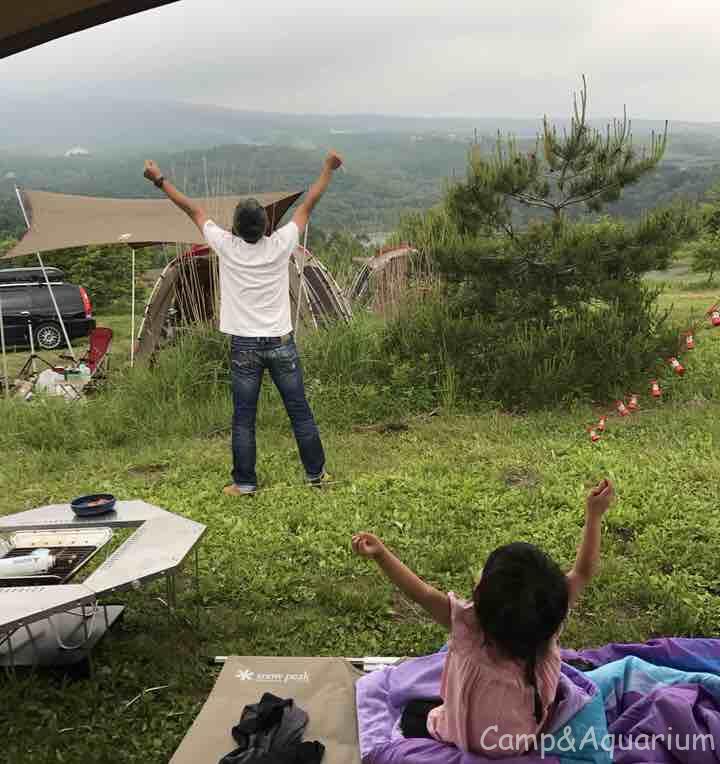 無印良品カンパーニャ嬬恋キャンプ場で初めての父子キャンプ