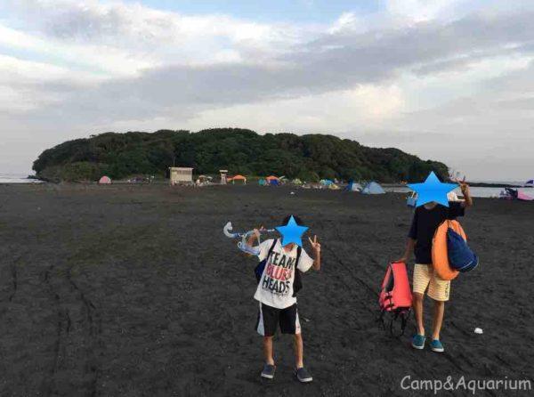 沖ノ島海水浴場