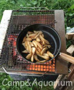 ふもとっぱら 夕食 冷凍ポテト