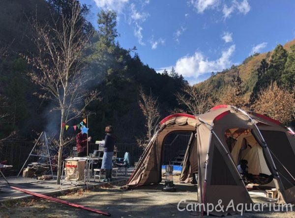 ウッドルーフ奥秩父オートキャンプ場で今年最後のキャンプしてきました