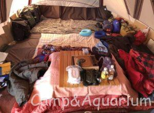 冬キャンプ お座敷スタイル