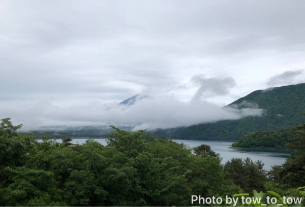 本栖湖 富士山