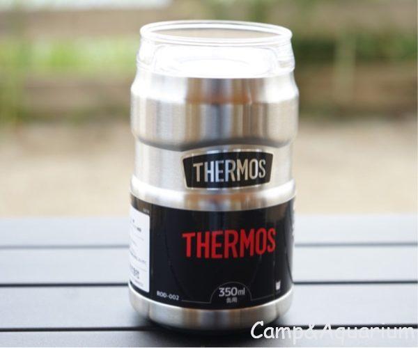 THRMOS保冷缶ホルダー