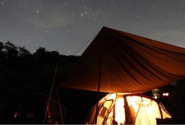 上毛高原キャンプグランドで天体観測キャンプ