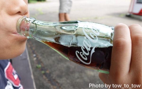 大胡グリーンフラワー牧場 コカコーラ瓶自販機