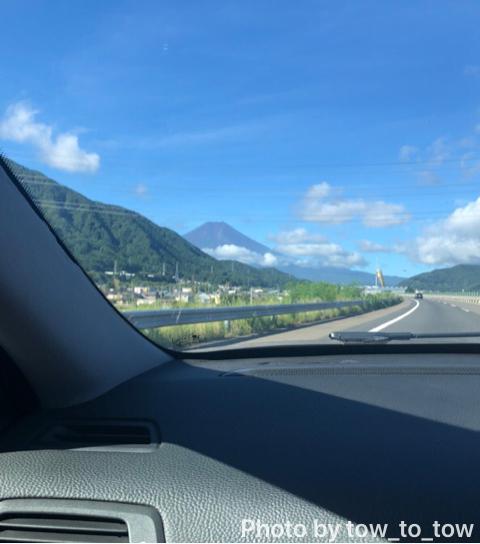 中央道 富士山