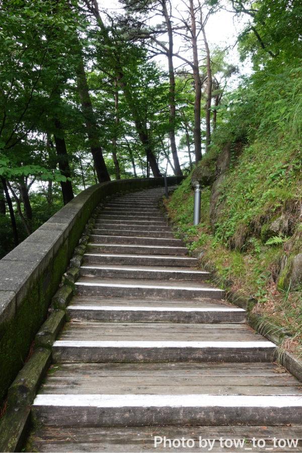 ぐんま天文台 階段