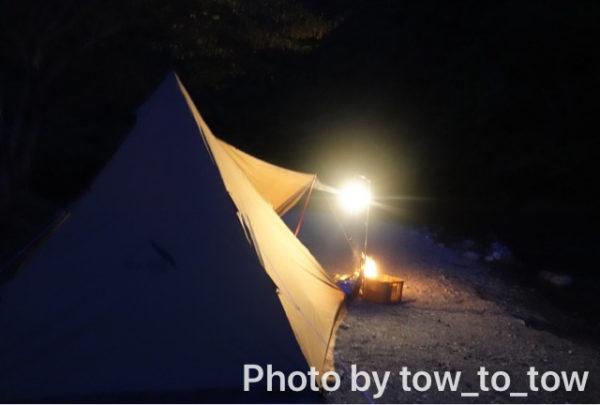 CAZUキャンプ場河原サイト