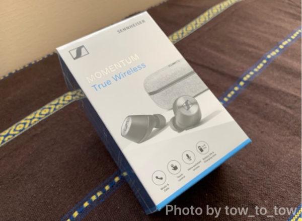 MOMENTUM True Wirelessパッケージ