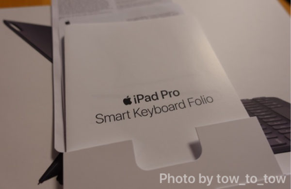 Apple Smart Keyboard Folio同梱品