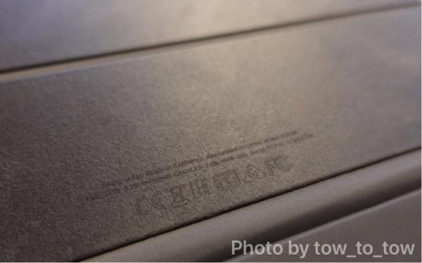 Apple Smart Keyboard Folio 質感