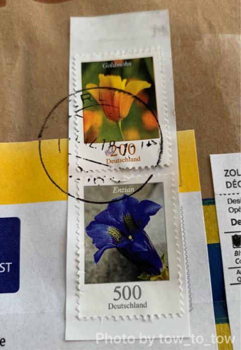 Hunersdorff ドイツの切手