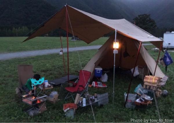 ふもとっぱら 父子キャンプ