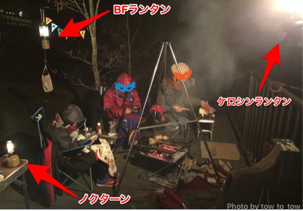 ウッドルーフ奥秩父オートキャンプ場 秋キャンプ