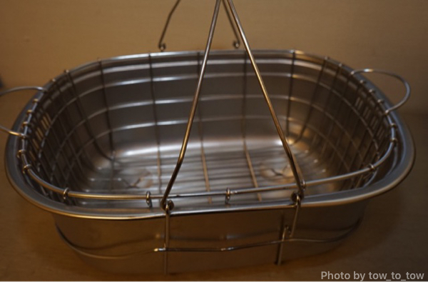 フィールドキャリングシンクと遠藤商事 業務用 小判洗桶用カゴ