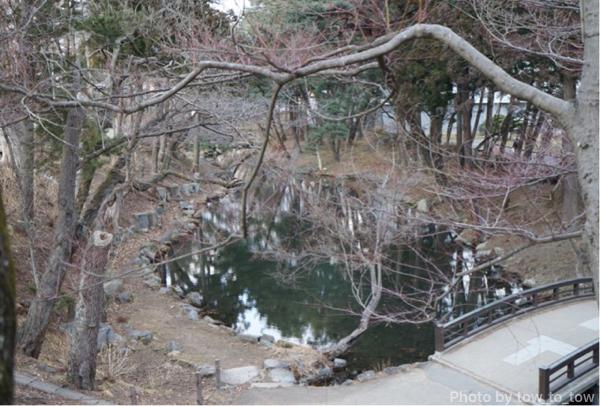 盛岡城跡公園池