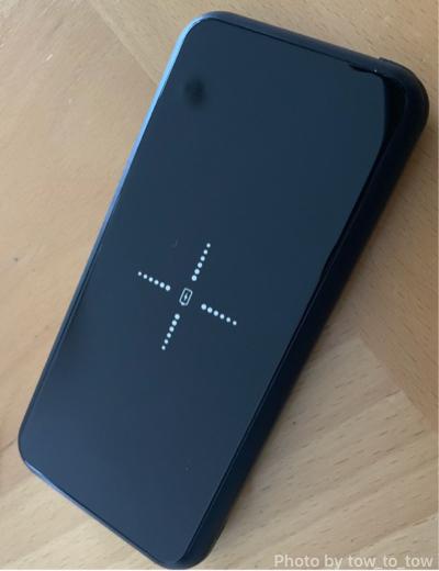 ワイヤレスモバイルバッテリー