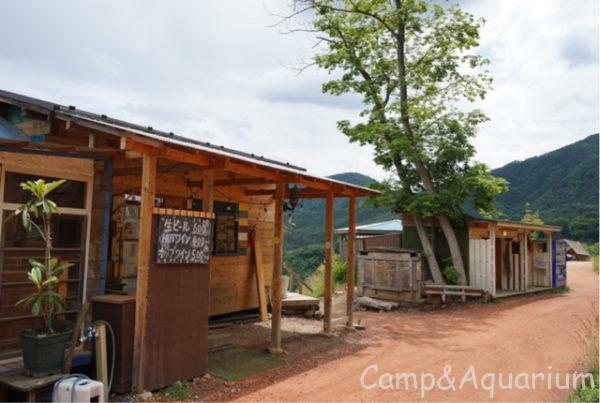 ほったらかしキャンプ場区画サイト施設