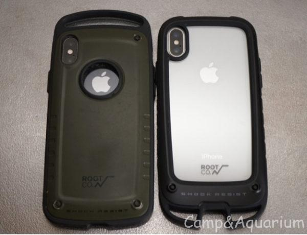 ROOT CO. Gravity Shock Resist Case +Hold.
