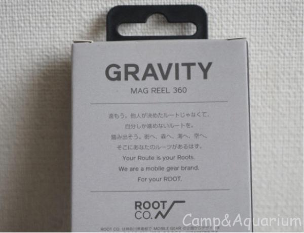 GRAVITY MAG REEL360パッケージ