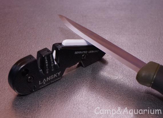 モーラナイフの切れ味を簡易的に復活させてみたら刃物研ぎにハマりそうです