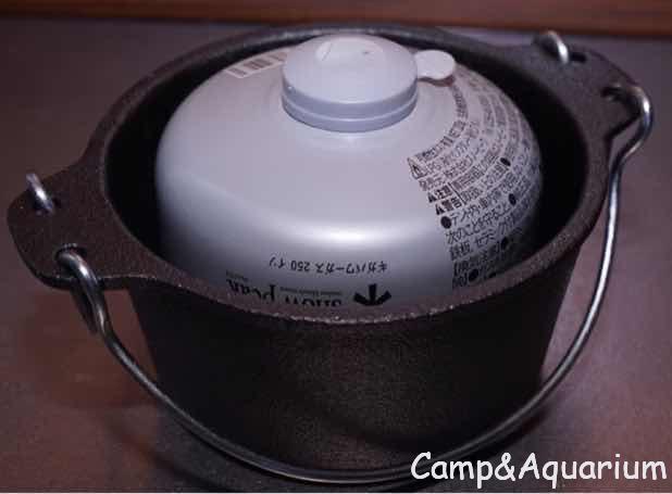 キャプテンスタッグ14cmダッチオーブン
