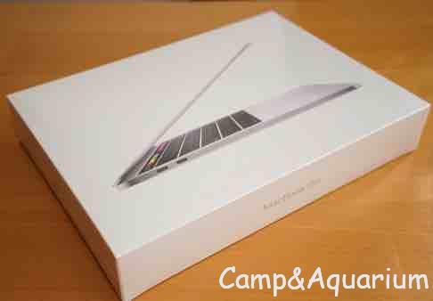 MacBook Pro2018パッケージ