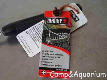 Weberグリル用ブラシ 商品タグ