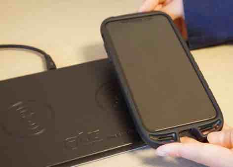 JE Qi承認 急速多機能ワイヤレス充電器