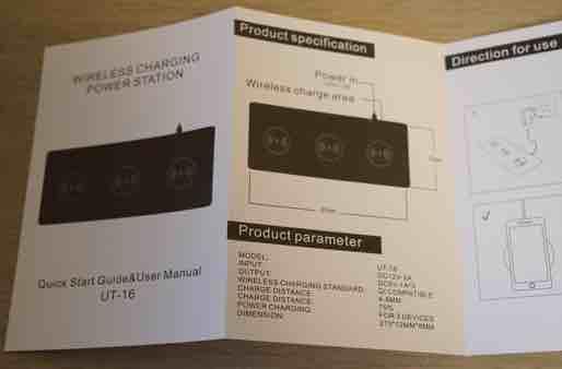 JE Qi承認 急速多機能ワイヤレス充電器 説明書