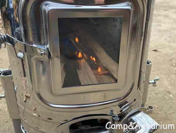 ホンマ製作所APS-48DX 初火入れ
