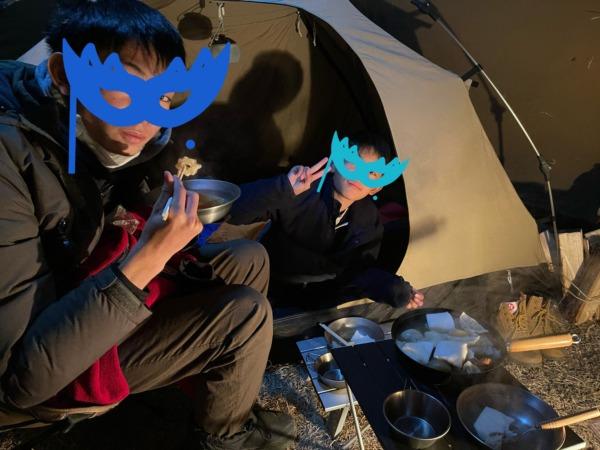 サーカスTC内夕食