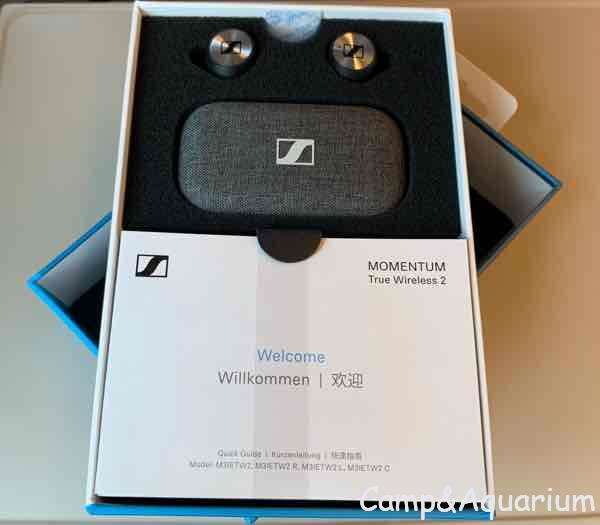 MOMENTUM True Wireless2開封